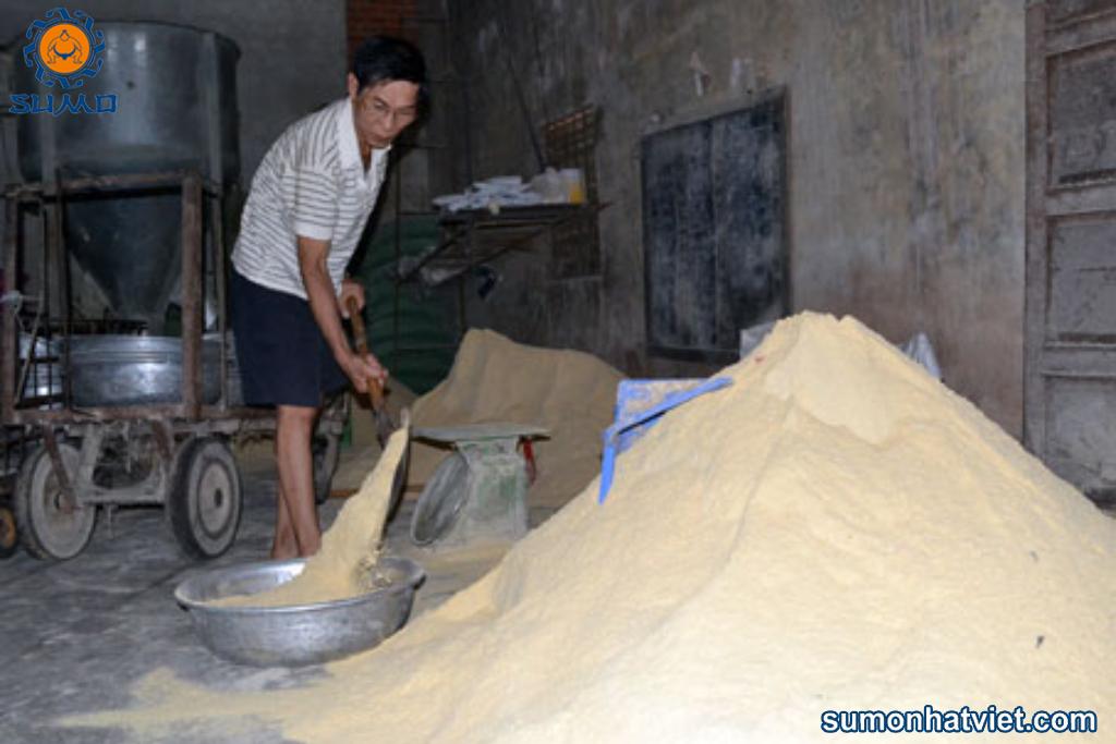Men ủ thức ăn SUMO được sử dụng với tỉ lệ 1/500