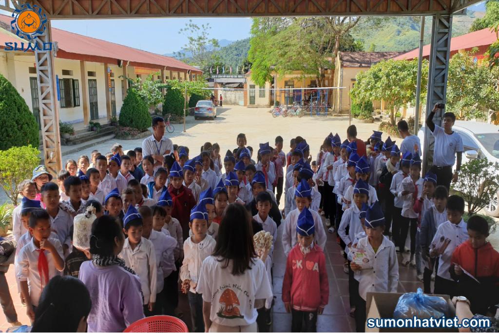 Chương trình được triển khai đầu tiên tại Trường tiểu học Ngối Cáy – Điện Biên