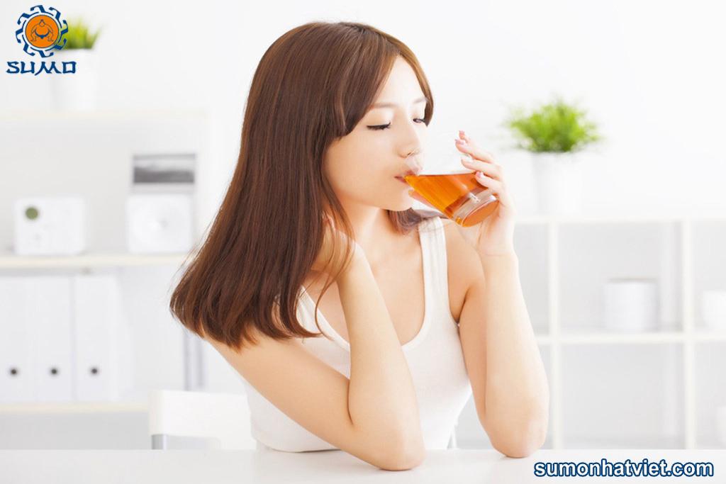Uống nấm linh chi để bảo vệ sức khỏe