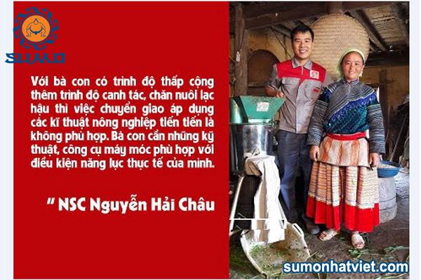 """""""Kỹ sư Hai lúa"""" Nguyễn Hải Châu với nhiều sáng chế hữu ích góp phần phòng, chống dịch bệnh"""