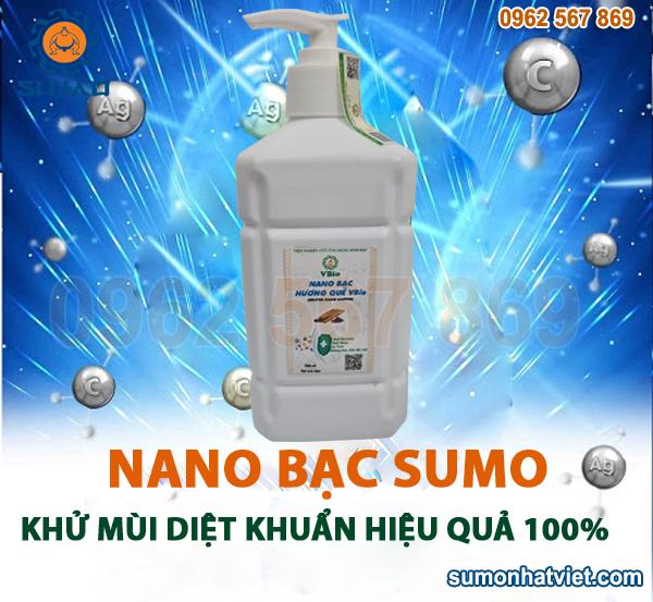 Công dụng của Nano bạc diệt khuẩn khử mùi