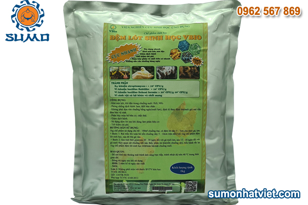 Đệm lót sinh học chăn nuôi Sumo 0,5Kg