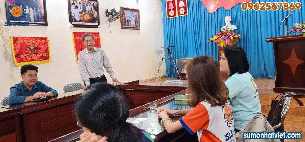 Hội thảo giữa Công ty Cổ phần SUMO Nhật Việt với Hội làm vườn và trang trại Thanh Hóa
