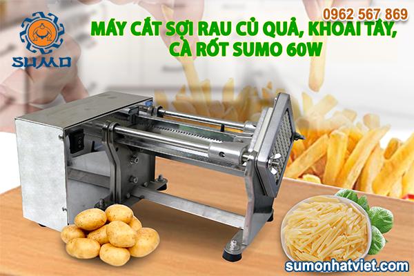 Máy cắt sợi rau củ quả, khoai tây, cà rốt SUMO 60W