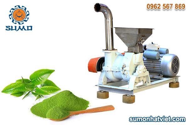 Máy nghiền bột trà xanh matcha siêu mịn SUMO 2,2Kw