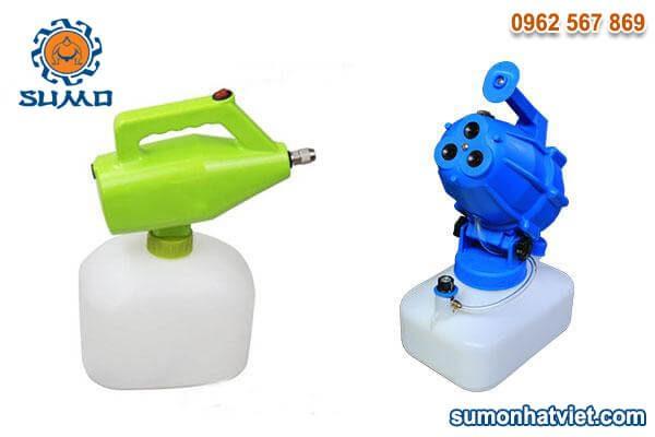 Combo 1 máy phun thuốc khử trùng cầm tay SUMO và 1 máy phun thuốc khử trùng 3 đầu SUMO