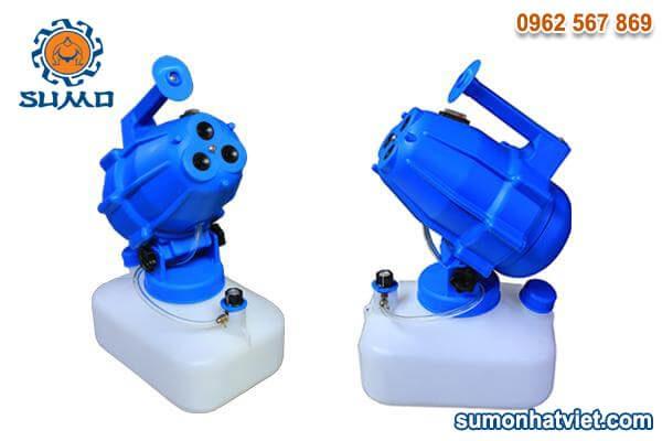 Combo 2 máy phun khử trùng chạy điện SUMO (3 đầu phun)