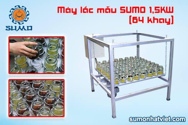Máy lắc mẫu SUMO 1,5KW (64 khay)